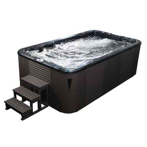 EO-SPA Aussenwhirlpool SWIM SPA Aquacise 4.0 PearlS/400x230/grau