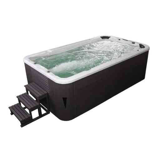 Eo-spa Aussenwhirlpool SWIM SPA Aquacise 4.0 Sterling Silver/400x230