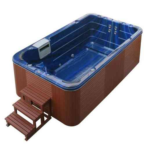 Eo-spa Aussenwhirlpool SWIM SPA Aquacise 4.0 Summer Saphire/400x230